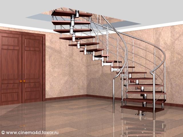 Спиральная лестница (4)