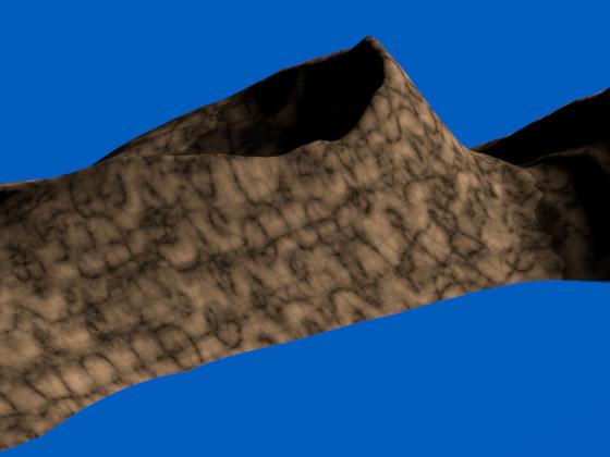Отсутствие швов и мозаичного эффекта при использовании процедурных шумов