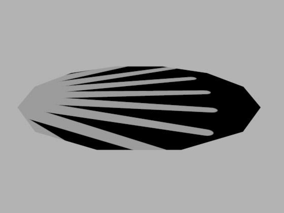 Не самое верное расположение текстуры на поверхности диска