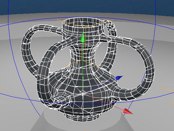 Подбираем значение «Time» модификатора для минимальной начальной деформации модели