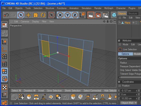 Как мы начали бы моделить дом — создав плоскость и разрезав её на сегменты?