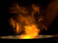 Объёмный трёхмерный огонь в Maxon Cinema 4D
