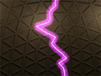 Электрический разряд в Cinema 4D