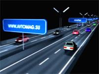 Видео для выставки «Автомеханика-2013»: «Ночные ориентиры»
