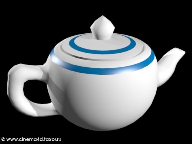 3D модель: Чайник