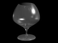 3D модель: Бокал для шампанского
