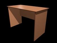 3D модель: Офисный стол эконом-класса