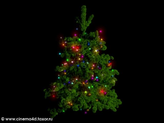 3D модель: Новогодняя ёлка