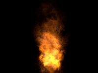 3D модель: Огонь (пламя)