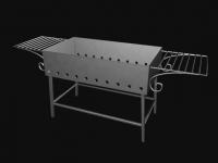 3D модель: Мангал