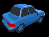 3D модель: Автомобильчик